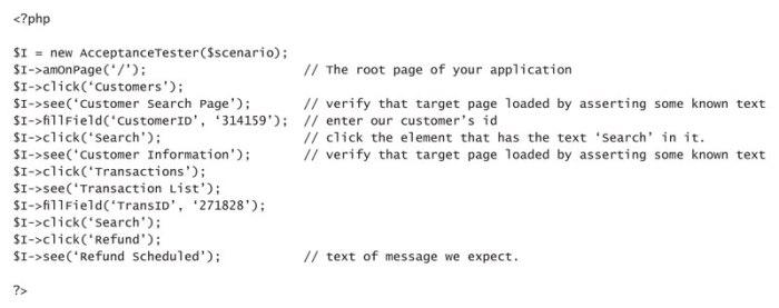 Codeception-test